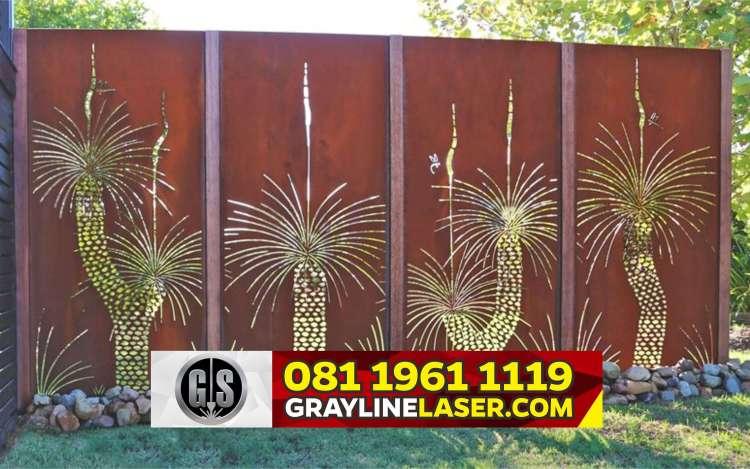Pagar Laser Cutting Tangerang