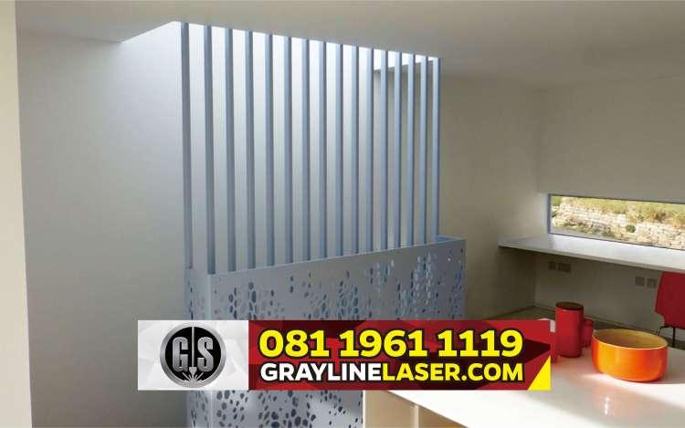 081 1961 1119 > GRAYLINE LASER | Railing Tangga Laser Cutting Larangan Tangerang
