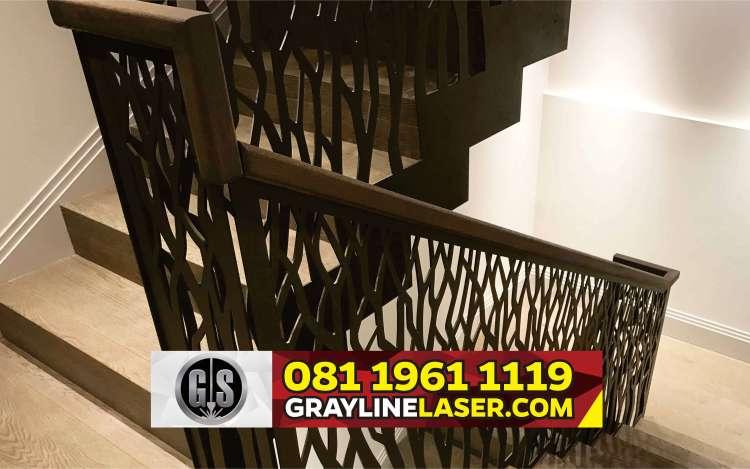 081 1961 1119 > GRAYLINE LASER | Railing Tangga Laser Cutting Cipayung