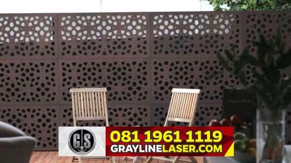 081 1961 1119 GRAYLINE LASER > Pagar Laser Cutting Depok