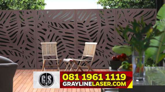 081 1961 1119 GRAYLINE LASER > Pagar Laser Cutting Jakarta Utara