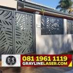 081 1961 1119 GRAYLINE LASER > Pintu Pagar Laser Cutting Bekasi