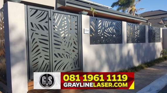 081 1961 1119 GRAYLINE LASER > Pintu Pagar Laser Cutting Bogor