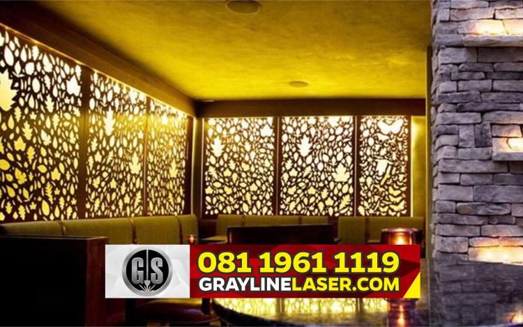 Pembatas Ruang Laser Cutting Jakarta