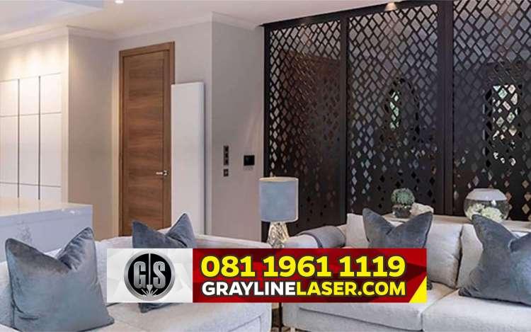Pembatas Ruang Laser Cutting Jakarta Barat