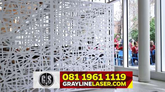 081 1961 1119 > GRAYLINE LASER | Pembatas Ruang Laser Cutting Jakarta Barat