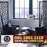081 1961 1119 > GRAYLINE LASER | Pembatas Ruang Laser Cutting Jakarta Utara