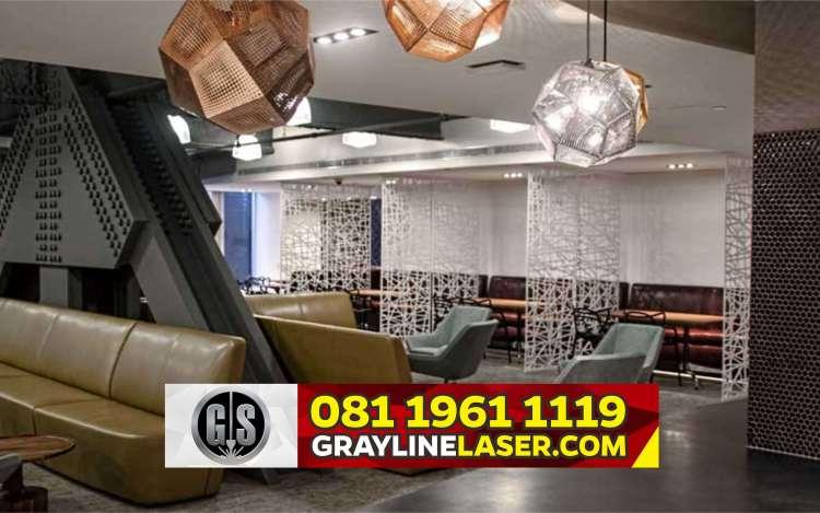 Pembatas Ruang Laser Cutting Bogor