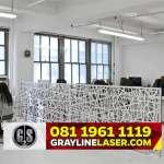081 1961 1119 > GRAYLINE LASER | Partisi Laser Cutting Tangerang