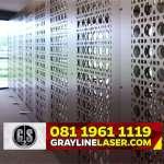 081 1961 1119 > GRAYLINE LASER | Partisi Laser Cutting Jakarta Pusat