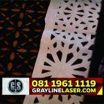 081 1961 1119 GRAYLINE LASER >Jasa Laser Cutting Kain Tangerang