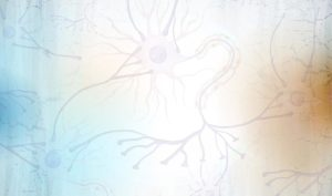 Background image of neurons