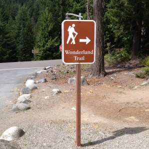 scouting at Longmire for the Wonderland Trail