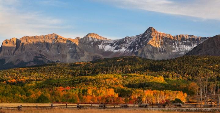 Autumn in the San Juan Mountains of Colorado