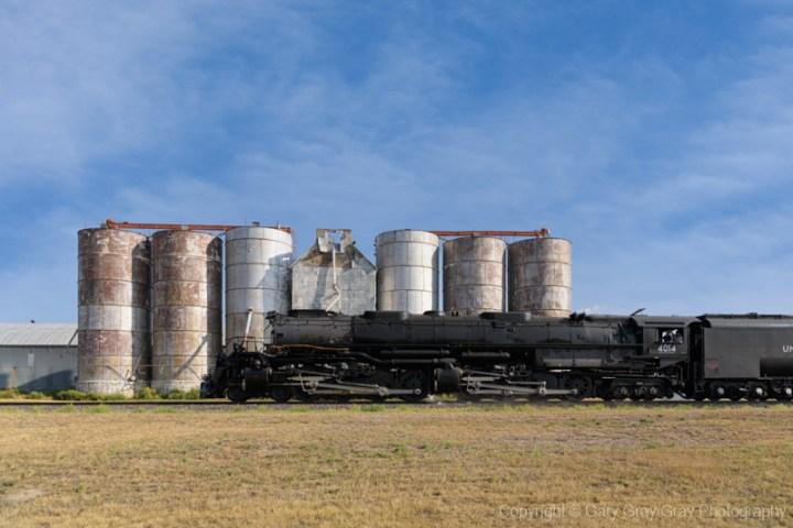 The Union Pacific 4014 Near Arapahoe, Colorado.