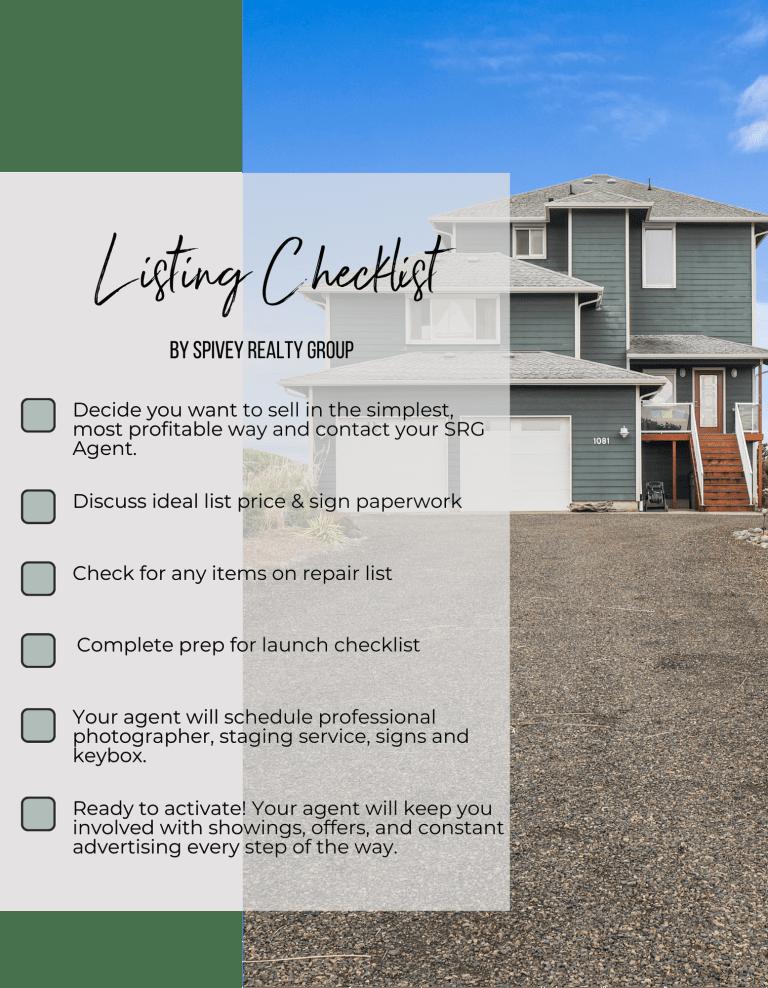 Listing Checklist