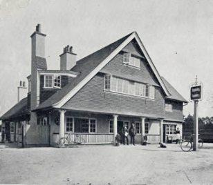 The inn taken by Walder circa 1901