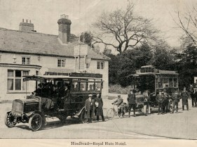 Ben Chandler's Commer bus service 1910
