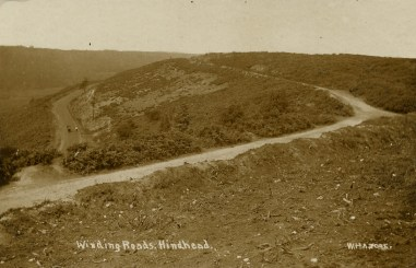 Gibbet Hill road and the 'new' 1826 toll road