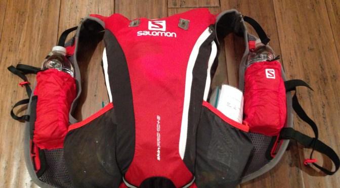 Salomon Skin Pro 10+3 for backpacking