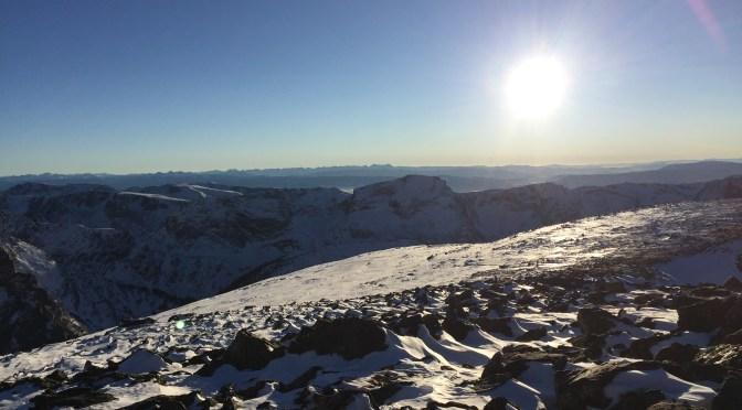 Descending Andrews Glacier, Climbing Taylor Glacier: Part 3