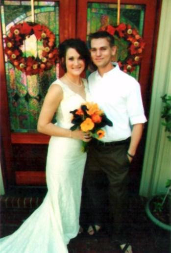 Katie Barrett's Wedding Hair Style
