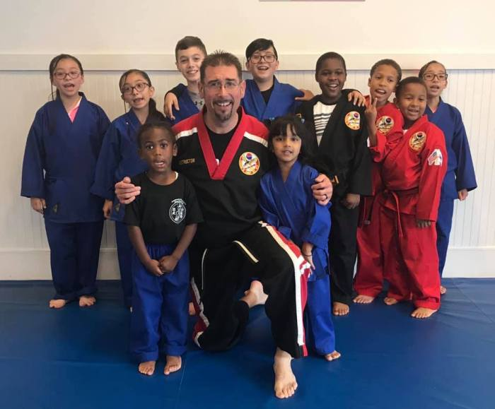 Kids Martial Arts in Choe's HapKiDo Martial Arts Grayson