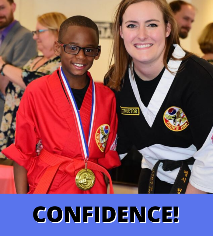 Confidence at Kids Martial Arts Grayson GA