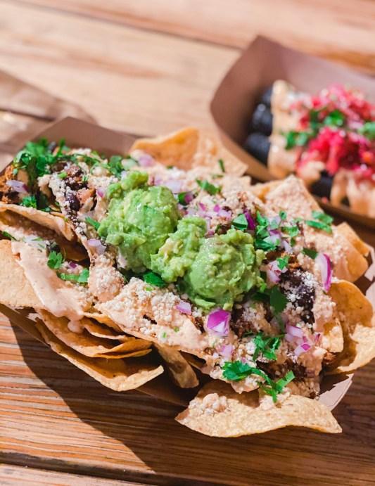 Picture of vegan nachos from Seabirds kitchen in Costa Mesa