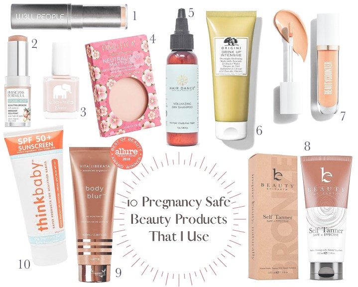 10 Pregnancy Safe Beauty Products That I Use