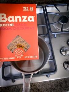 banza protein pasta