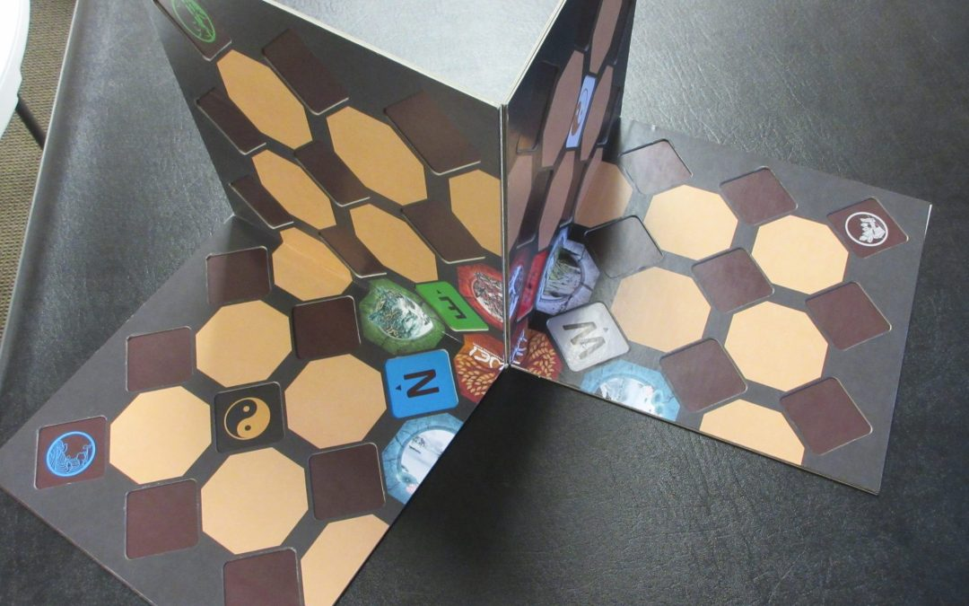 Journey of the Changing Board Game Prototype