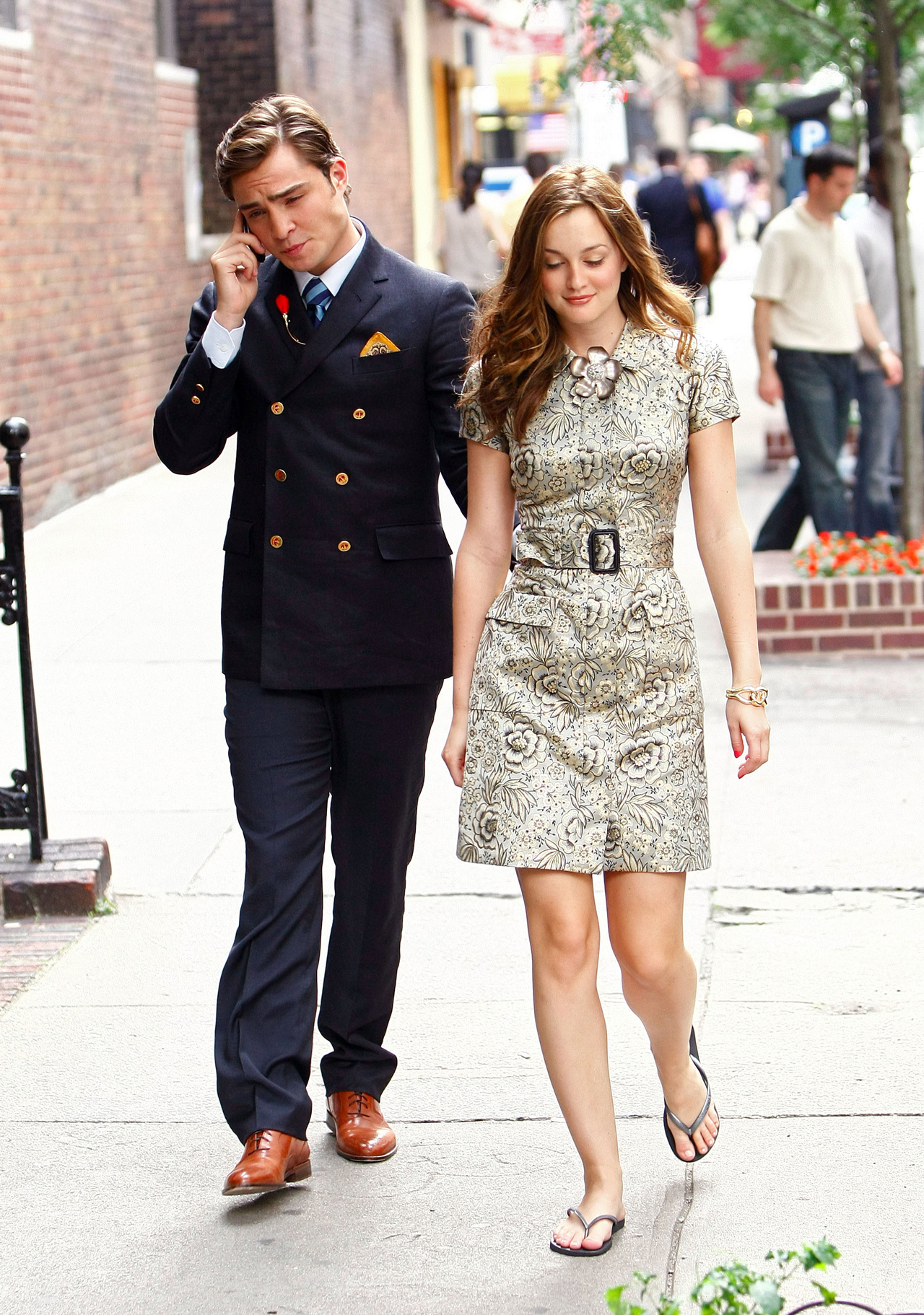 Are chuck and blair from gossip girl hookup in real life