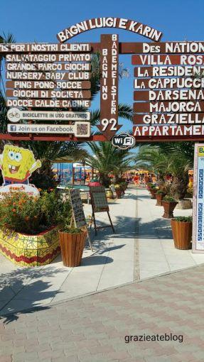praia em Riccione