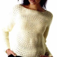 Unusual Crochet: Circle Sweater