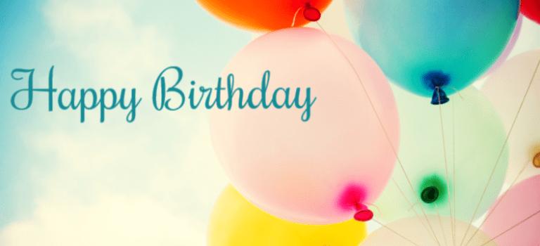 Happy first Blog Birthday