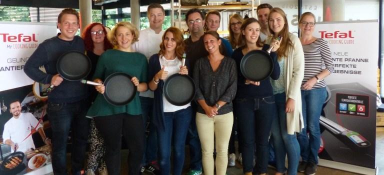 Fotostrecke: Die Pfanne sei mit dir – Tefal my Cooking Guide in Hensslers Küche