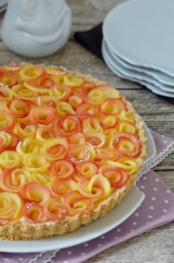 Apfelrosen-Tarte