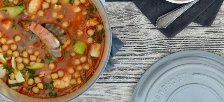 Kochen in der Cocotte: Orientalische Fischsuppe  //  Shopvorstellung
