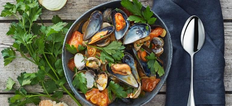 10 Tage, 10 Gerichte – Tag 7: Muscheln in Tomatensauce