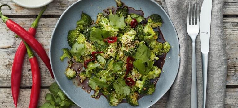 10 Tage, 10 Gerichte – Tag 5: Gedünsteter Brokkoli in Soja-Sauce