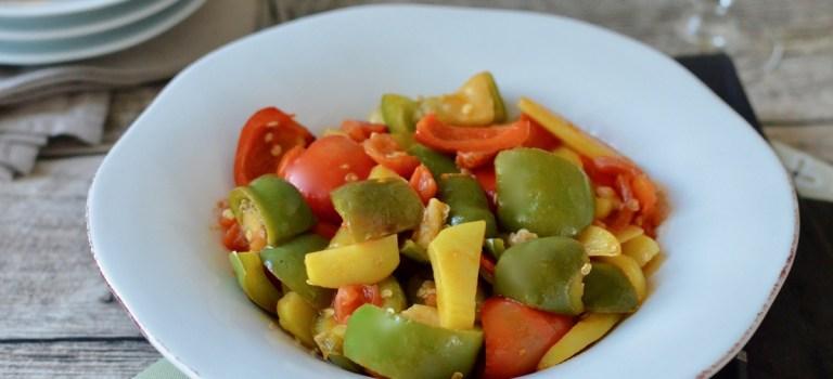 Für jeden Tag: Peperonata mit Kartoffeln
