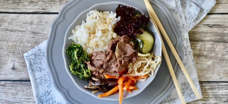 Happy Food: Bibimbap á la Graziella