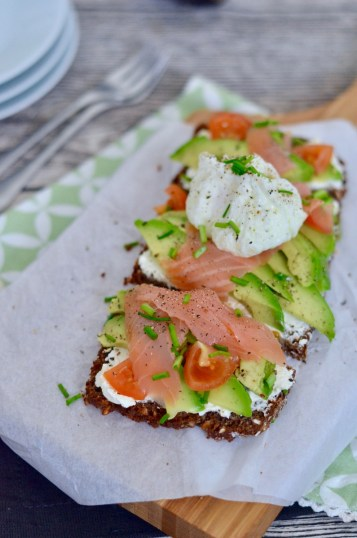 Happy Food: Avocado-Lachs-Stulle