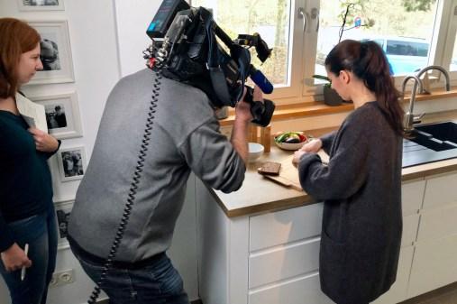 Mein Dreh mit dem HR Fernsehen: Rezept für Pastrami- sowie Hähnchenbrust-Rote-Bete-Pausenstullen