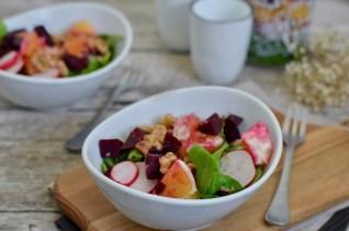 Detox: Rote Bete Salat mit Orangen & Walnüssen