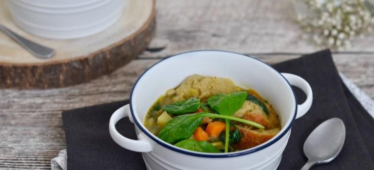 Vegetarisch Kochen: Ribollita (Toskanische Gemüsesuppe)
