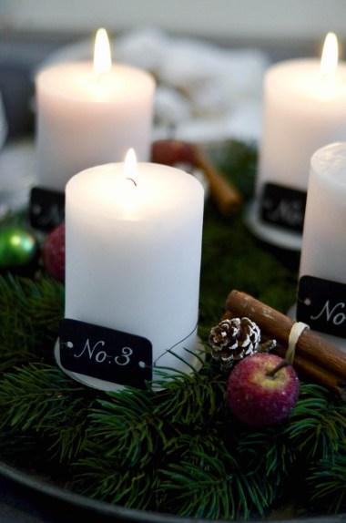 Advent, Advent: Vanillekipferl & das dritte Lichtlein
