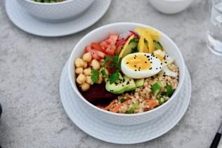 Vegetarisch Kochen: Bulgur-Bowl mit Kichererbsen & Rote Bete