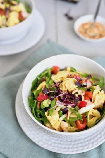 Vegetarisch Kochen: Tortellini-Salat